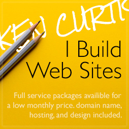 advertising for web designer, ken curtis